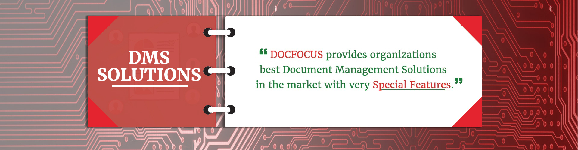 DOCFOCUS Product Banner